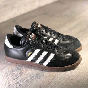 Adidas Samba Classic Leather Shoes Sz 5Y